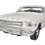 1964 1/2 Ford Mustang Convertible Cream No.1 50th Anniversary 1/24 Diecast Car Model by Motormax