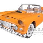 1956 Ford Thunderbird Orange 1/24 Diecast Car Model by Motormax