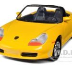 Porsche Boxster Yellow 1/24 Diecast Car Model by Motormax