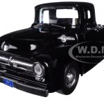 1956 Ford F-100 Pickup Truck Black 1/24 Diecast Model by Motormax