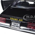 1973 Pontiac Firebird Trans Am Black with Gold Wheels 1/24 Diecast Model Car by Motormax