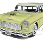 1955 Chevy Nomad Yellow 1/24 Diecast Car Model by Motormax