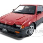 Honda Ballade CR-X Si Red 1/18 Diecast Model Car by Autoart