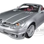 2005 Mercedes SLK55 SLK 55 AMG Silver 1/24 Diecast Car Model by Motormax