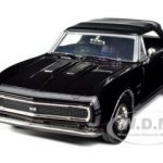 1967 Chevrolet Camaro SS Soft Top Purple 1/24 Diecast Car Model by Motormax