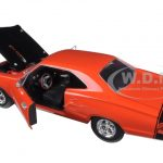 1969 Dodge Coronet Super Bee Orange 1/24 Diecast Model Car by Motormax