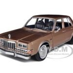 1986 Dodge Diplomat Salon Brown Metallic 1/24 Diecast Model Car by Motormax