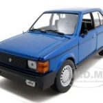 1985 Dodge Omni GLH Blue 1/24 Diecast Model Car by Motormax