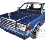 1983 Plymouth Reliant Blue 1/24 Diecast Car Model by Motormax