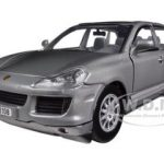 2008 Porsche Cayenne Grey 1/24 Diecast Car Model by Motormax
