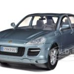 Porsche Cayenne Turbo Grey 1/24 Diecast Car Model by Motormax