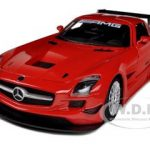 Mercedes SLS AMG GT3 Red 1/24 Diecast Car Model by Motormax