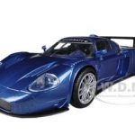 Maserati MC 12 Corsa Blue 1/24 Diecast Car Model by Motormax