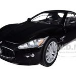 Maserati Gran Turismo Black 1/24 Diecast Car Model by Motormax