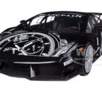 Lamborghini Gallardo LP560-4 Black Super Trofeo GT Racing 1/24 Diecast Car Model by Motormax
