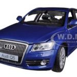 Audi Q5 Blue 1/24 Diecast Car Model by Motormax