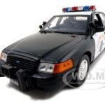 Ford Crown Victoria California Highway Patrol Car CHP Black/White 1/18 Diecast Model Car by Motormax