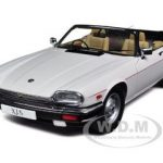 Jaguar XJ-S Cabriolet White 1/18 Diecast Car Model by Autoart