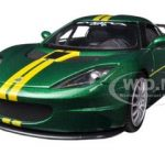 Lotus Evora GT4 Green GT Racing 1/24 Diecast Car Model by Motormax