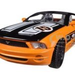 Ford Mustang GT Concept Orange #15 GT Racing 1/24 Diecast Car Model by Motormax