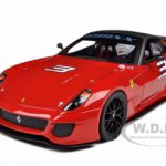 Ferrari 599XX #3 Red Mass Version 1/18 Diecast Model Car by Hotwheels