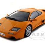 Lamborghini Diablo 6.0 Orange 1/18 Diecast Model Car by Autoart