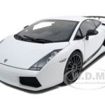 Lamborghini Gallardo Superleggera White 1/18 Diecast Model Car by Autoart