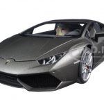 Lamborghini Huracan LP610-4 Grigio Titans/Matt Grey 1/18 Model Car by Autoart
