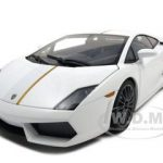Lamborghini Gallardo LP550-2 Valentino Balboni White/Bianco Monocerus 1/18 Diecast Model Car by Autoart