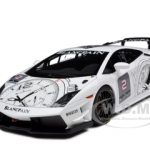 Lamborghini Gallardo LP560-4 Super Trofeo White/Blankpain #2 1/18 Diecast Model Car by Autoart