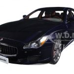 2015 Maserati Quattroporte GTS Passion Blue 1/18 Diecast Model Car by AutoArt