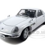 Mazda Cosmo Sport White 1/18 Diecast Model Car by Autoart