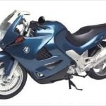 BMW K1200RS Blue 1/6 Diecast Motorcycle Model by Motormax