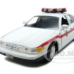 1998 Ford Crown Victoria York Regional Police Car 1/24 Diecast Model Car by Motormax