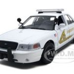 2007 Ford Crown Victoria San Bernardino Sheriff Department 1/24 Diecast Car Model by Motormax