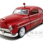1949 Mercury Fire Chief 1/24 Diecast Model Car by Motormax