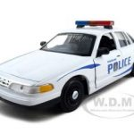 Ford Crown Victoria Vancouver Police 1/24 Diecast Model Car by Motormax