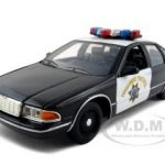 1993 Chevrolet Caprice CHP California Highway Patrol 1/24 Diecast Model Car by Motormax