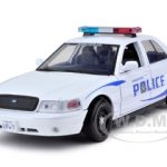 2010 Ford Crown Victoria Vancouver Police 1/24 Diecast Model Car by Motormax