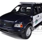 2000 Ford Expedition XLT Lynden Police 1/24 Diecast Car Model by Motormax