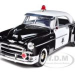 1950 Chevrolet Bel Air Police 1/24 Diecast Car Model by Motormax