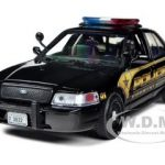 2010 Ford Crown Victoria Police Interceptor Countryside Police Department 1/24 Diecast Model Car by Motormax