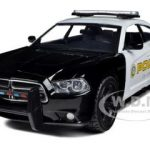 2011 Dodge Charger Pursuit San Gabriel Police Car 1/24 Diecast Car Model by Motormax
