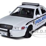 2010 Ford Crown Victoria Lyons Police Department 1/24 Diecast Car Model by Motormax