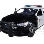 2013 Ford Police Interceptor LAPD Los Angeles Police Department Car 1/24 Diecast Car Model by Motormax