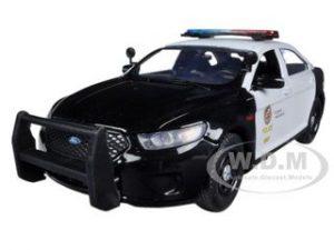 Walking Dead TV Show 2001 Ford Police Sheriff Diecast Car 1:43 Greenlight 5 inch