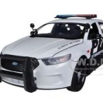 2013 Ford Police Car Interceptor 1/24 Diecast Car Model by Motormax