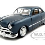 1949 Ford Coupe Blue 1/24 Diecast Model Car by Motormax