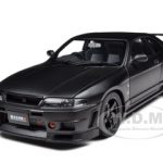 Nissan Skyline GT-R (R33) R Tune Matt Black 1/18 Diecast Car Model by Autoart