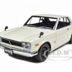 1st Generation Nissan Skyline 2000 GT-R (KPGC10) White 1/18 Diecast Model Car by Autoart